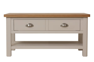 Stratford Painted Coffee Table with Drawers