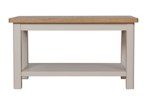 Stratford Painted Coffee Table with Shelf