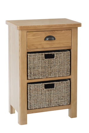 Stratford Traditional 1 Drawer 2 Basket Unit