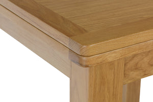 Stratford Traditional Flip Top Extending Dining Table
