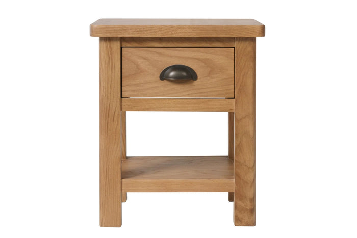 Stratford Traditional 1 Drawer Lamp Table