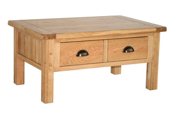 Vancouver Select Coffee Table with 2 Drawers
