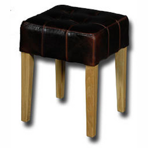 Jono Stool - Antique Brown