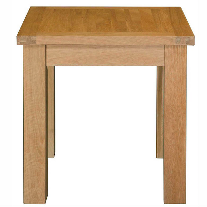 Woodstock Oak 75 x 75 Fixed Dining Table
