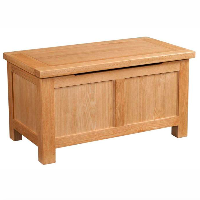 Bicester Oak Blanket Box