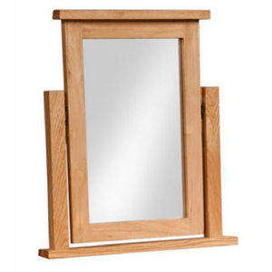 Bicester Oak Dressing Table Mirror | A Touch of Furniture