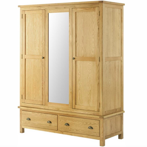 Cherwell Oak Triple Wardrobe