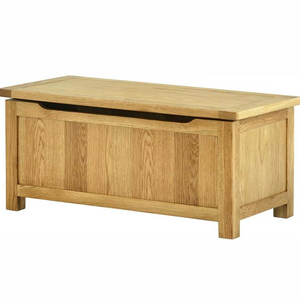Cherwell Oak Blanket Box