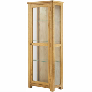 Cherwell Oak Glazed Cabinet | A Touch of Furniture Oxfordshire