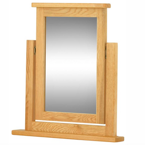 Cherwell Oak Swing Mirror | A Touch of Furniture Oxfordshire