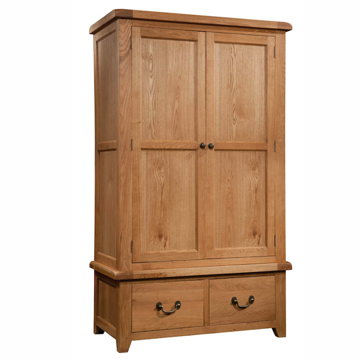 Somerset Oak Gents Robe with 2 Drawers