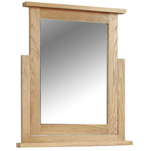 Somerset Oak Dressing Table Mirror | A Touch of Furniture Oxfordshire