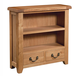 Somerset Oak Bookcase 900mm x 900mm