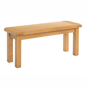 Somerset Oak 104cm Bench