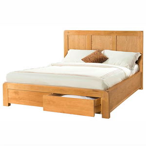 Avon Oak 5ft Bed with 2 Storage Drawers | A Touch of Furniture Oxfordshire