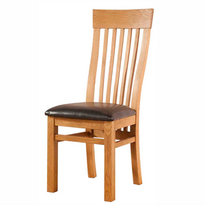 Avon Oak Curved Back Dining Chair | A Touch of Furniture Oxfordshire