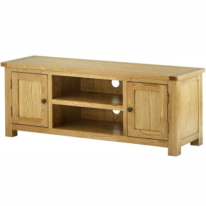 Cherwell Oak Large TV Cabinet