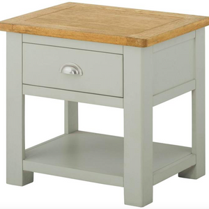 Cherwell Painted Lamp Table With 1 Drawer | A Touch of Furniture Oxfordshire