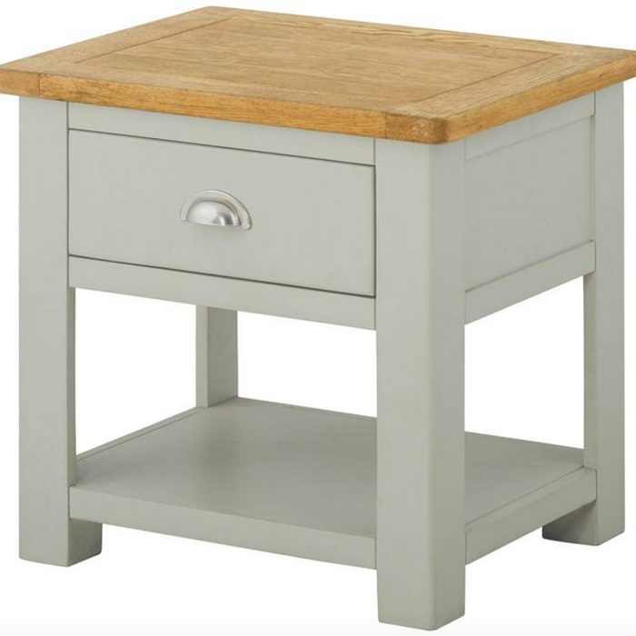 Cherwell Painted Lamp Table With 1 Drawer