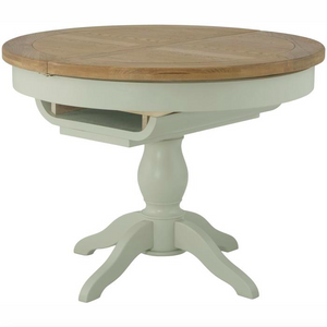 Cherwell Painted Round Butterfly Extending Table
