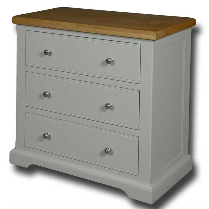 Oxford Painted 3 Drawer Wellington