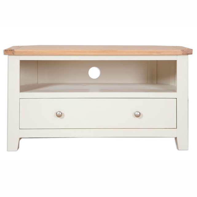 pretty nice ae03f a45a3 Melbourne Painted Corner TV Cabinet