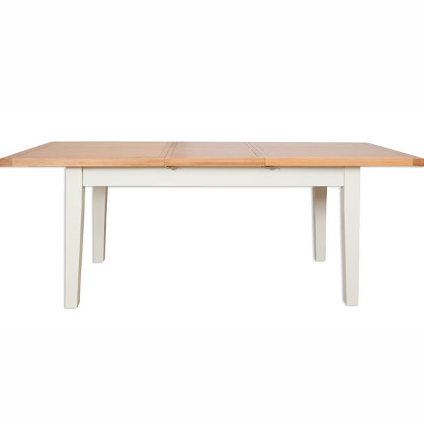 Melbourne Painted Extending Dining Table 1.2-1.6m