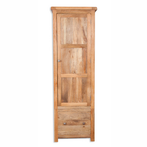 Mango Light 1 Door 1 Drawer Single Wardrobe