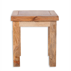 Mango Light Dressing Table Stool