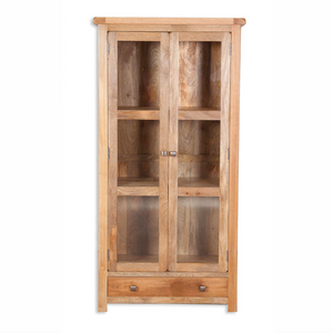 Mango Light Glazed Cabinet