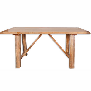 Mango Light Fixed Top Dining Table 1.75m