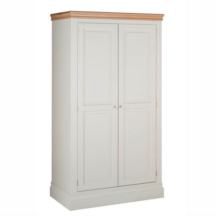 Lundy Pine Painted Hanging Wardrobe with 2 Doors