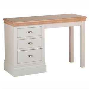 Lundy Pine Painted Single Pedestal Dressing Table