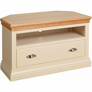 Lundy Pine Painted Corner TV Unit