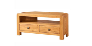 Avon Oak Corner TV Cabinet | A Touch of Furniture Banbury & Bicester