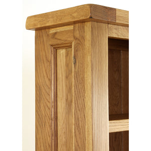 Vancouver Premium Oak CD / DVD / Bookcase | A Touch of Furniture