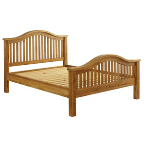 Vancouver Premium Oak High End 5ft King Size Bed