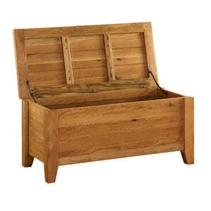 Vancouver Premium Oak Blanket Chest