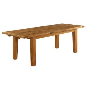 Vancouver Premium Oak Extending Dining Table 1.8m - 2.3m