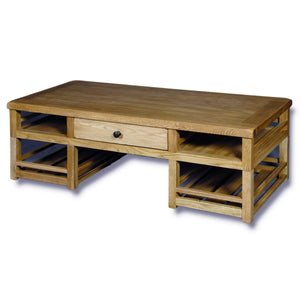 Manhattan Oak 1350mm Box Coffee Table