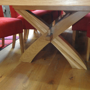 Woodstock Oak 2.0-2.8m Extending Dining Table