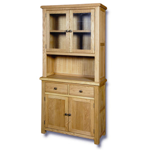 Manhattan Oak 2 Drawer 2 Door Dresser Base