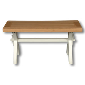 Oxford Painted 90cm Bench / Coffee Table