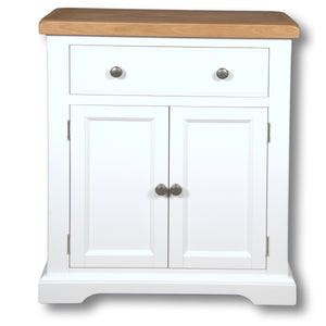 Oxford Painted 1 Drawer 2 Door Cabinet