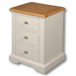 Oxford Painted 3 Drawer Bedside