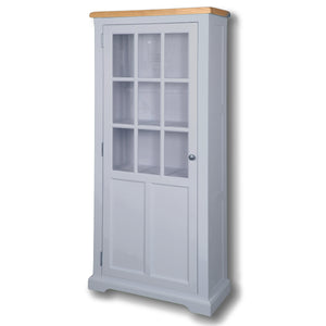 Oxford Painted Medium Display Cabinet