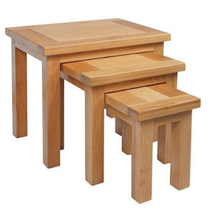 Bicester Oak Nest of Tables