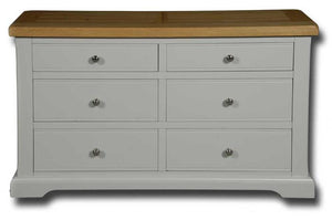 Oxford Painted Window High Chest 115cm