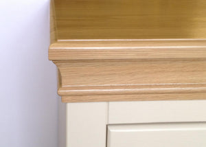 Lundy Pine Painted 2 Drawer Sideboard