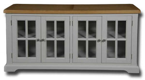 Oxford Painted Sideboard with 4 Glass Door